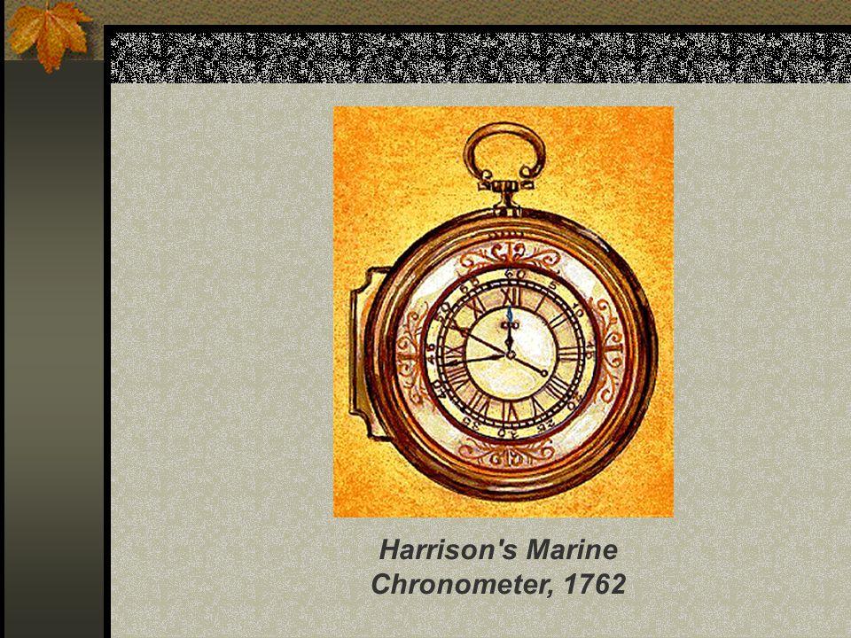 Harrison's Marine Chronometer, 1762