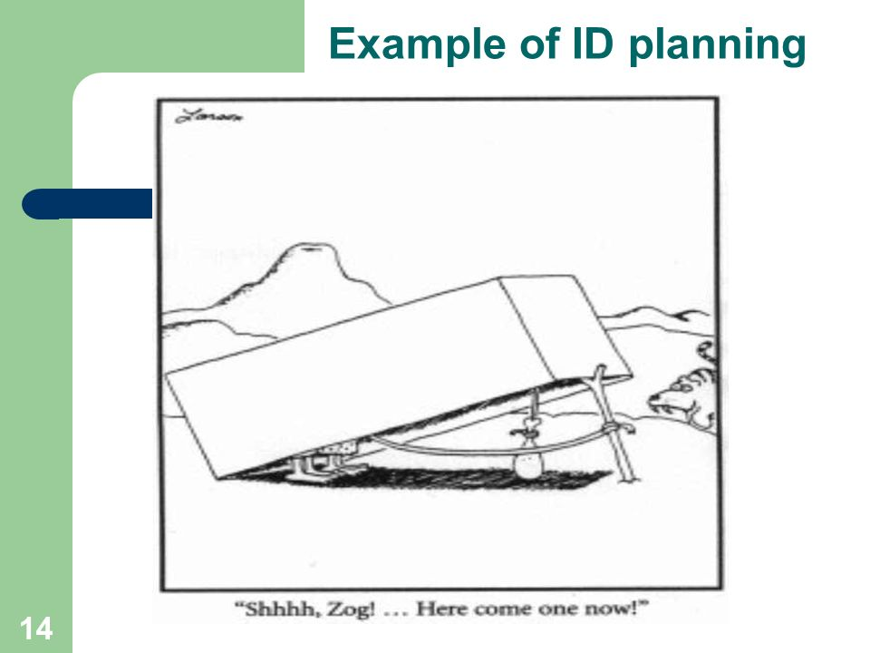14 Example of ID planning