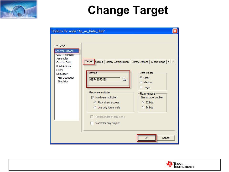 Change Target