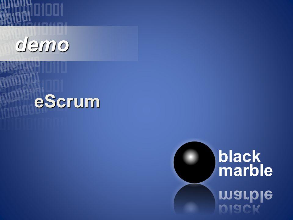 demo demo eScrum