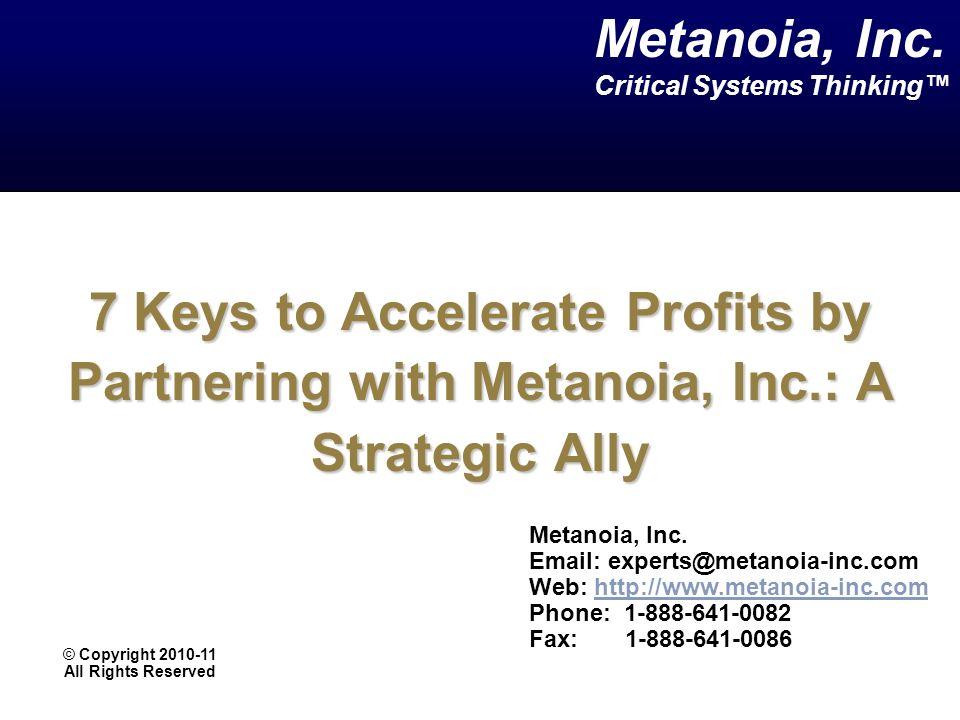 Metanoia, Inc.