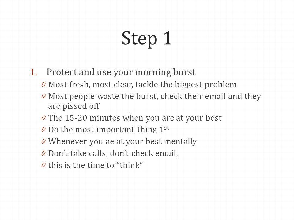 Step 1 1.