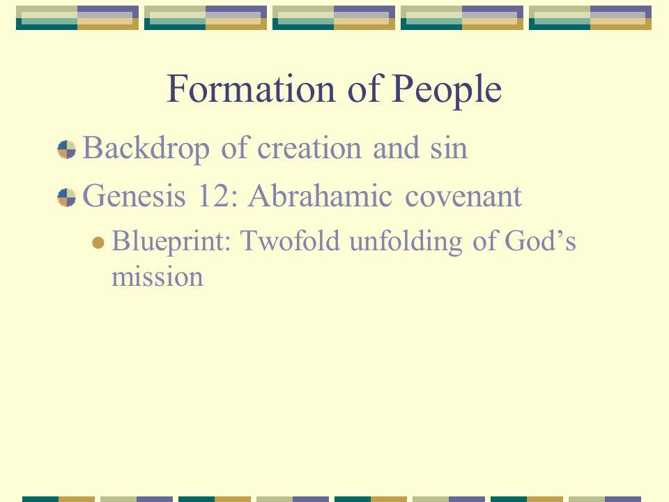 Importance of Genesis 12:1-3...