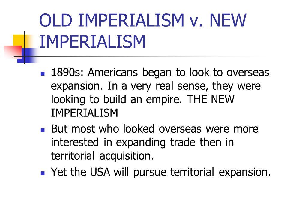 OLD IMPERIALISM v.