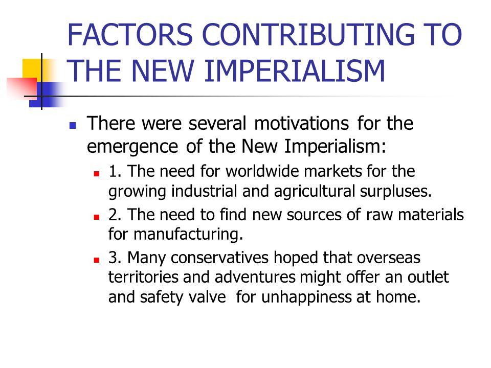 IMPERIALISTS versus ANTI- IMPERALISTS
