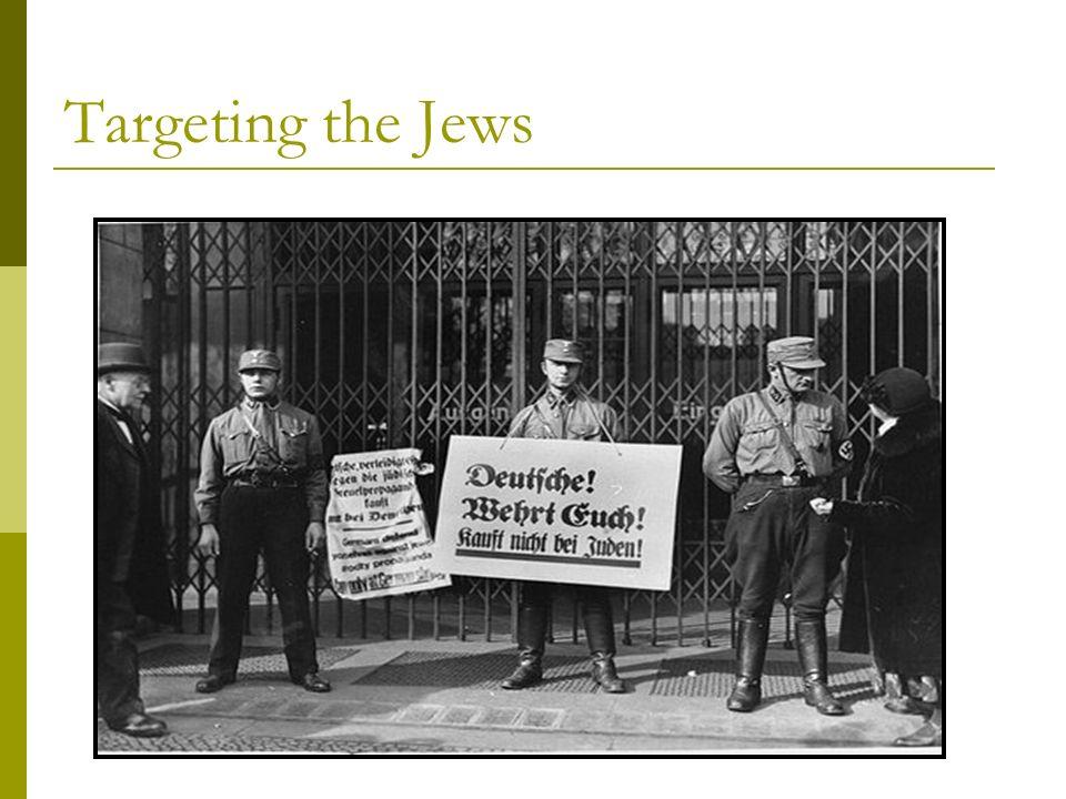 Targeting the Jews