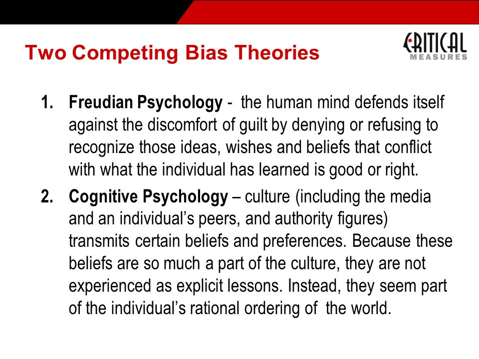 Battling Bias – Individual Actions 1.Enhance understanding of the psychological basis of bias.