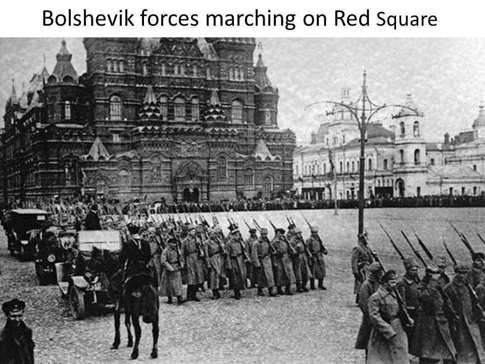 OCTOBER REVOLUTION PROBLEM: (final threat to the Provisional Gov) After overthrow of Kornilov Bolshevik membership increased.