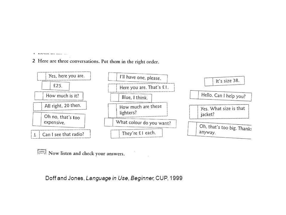 Doff and Jones, Language in Use, Beginner, CUP, 1999