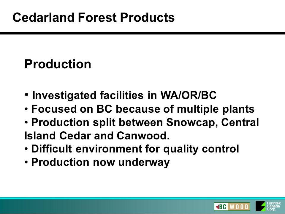 Forintek Canada Corp.