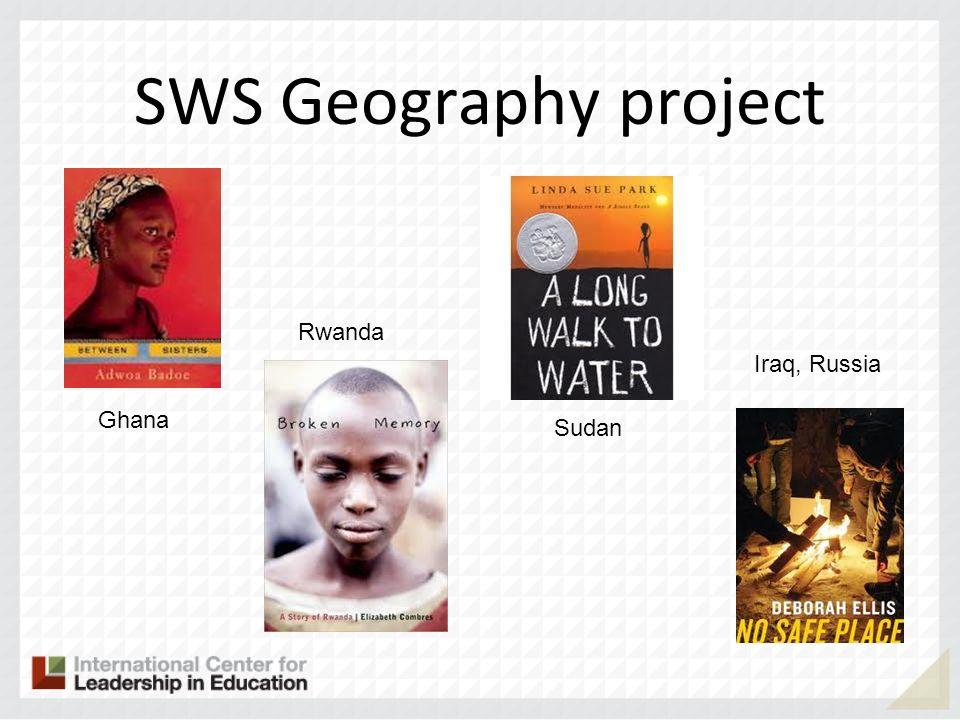 SWS Geography project Ghana Rwanda Sudan Iraq, Russia