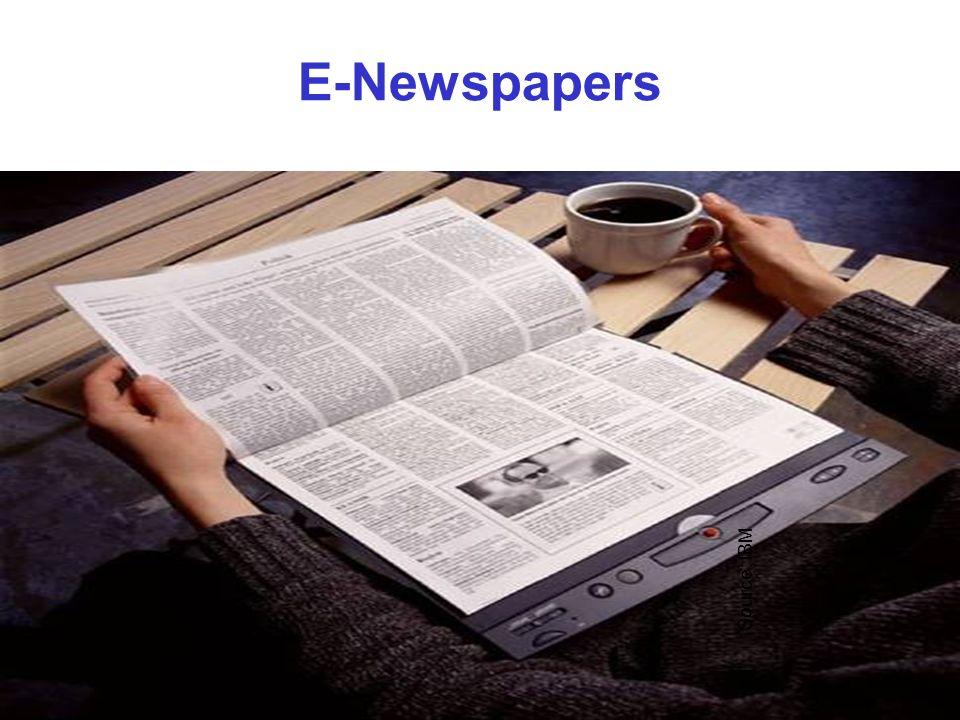 E-Newspapers Source: IBM