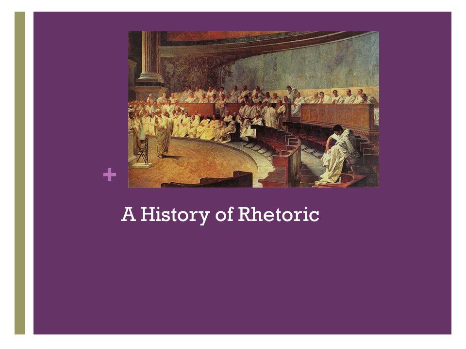 + A History of Rhetoric