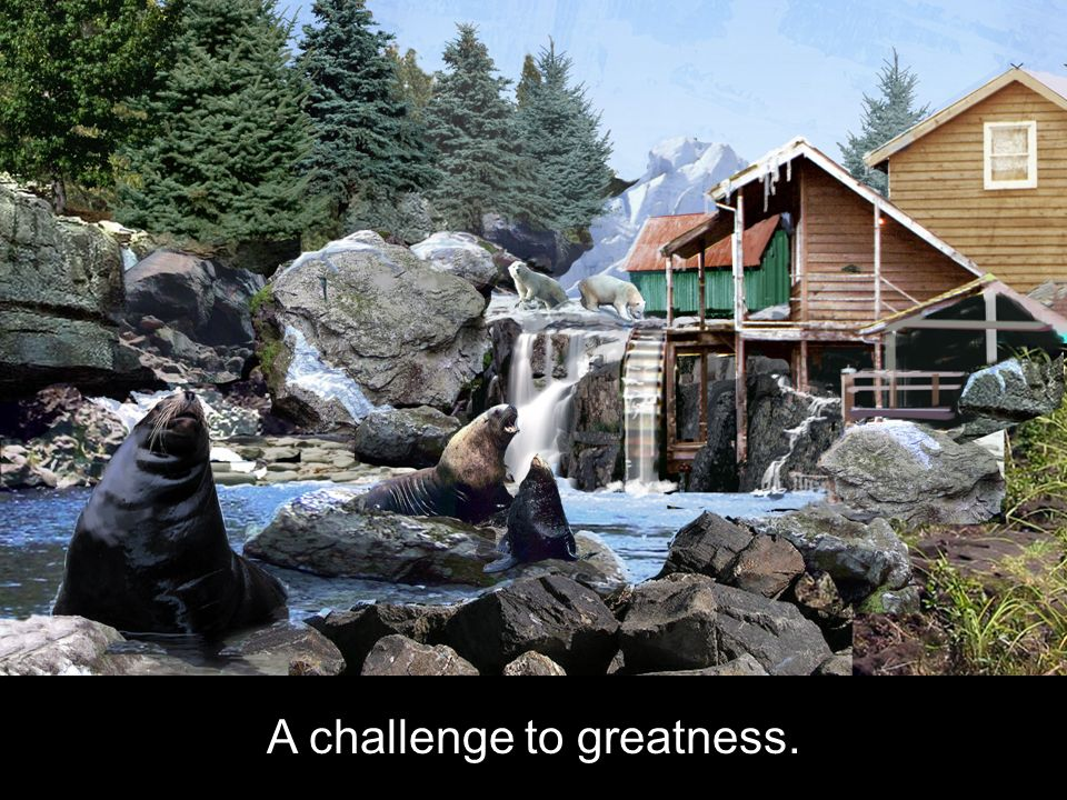 A challenge to greatness.