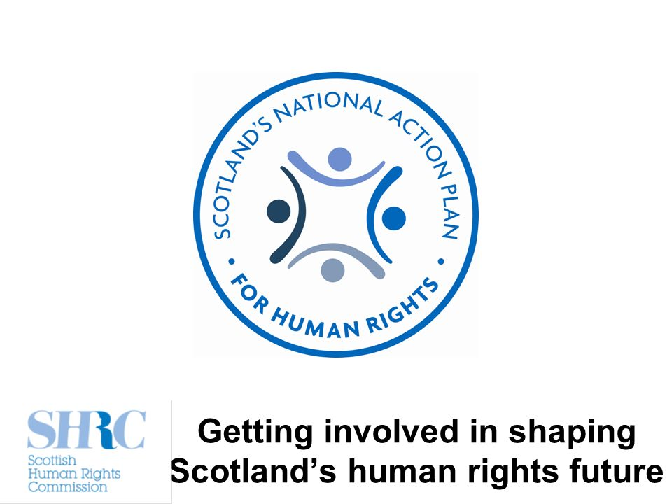 Getting involved in shaping Scotlands human rights future