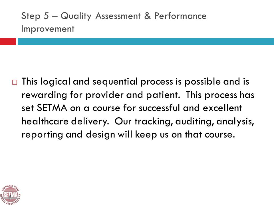 This logical and sequential process is possible and is rewarding for provider and patient.