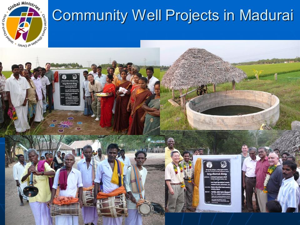 Community Well Projects in Madurai