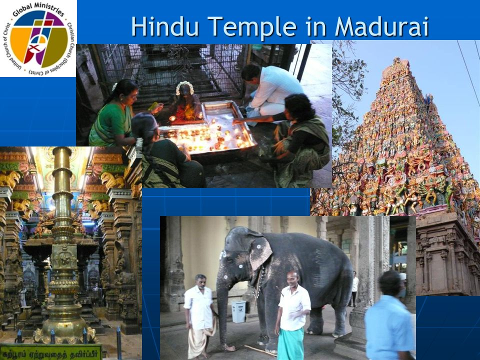 Hindu Temple in Madurai