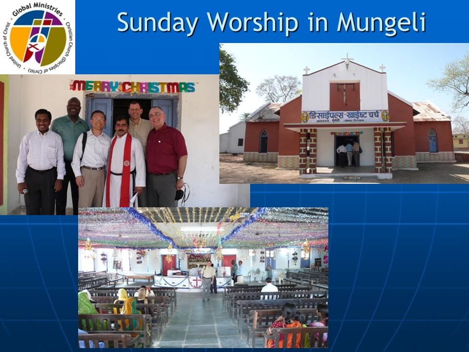 Sunday Worship in Mungeli