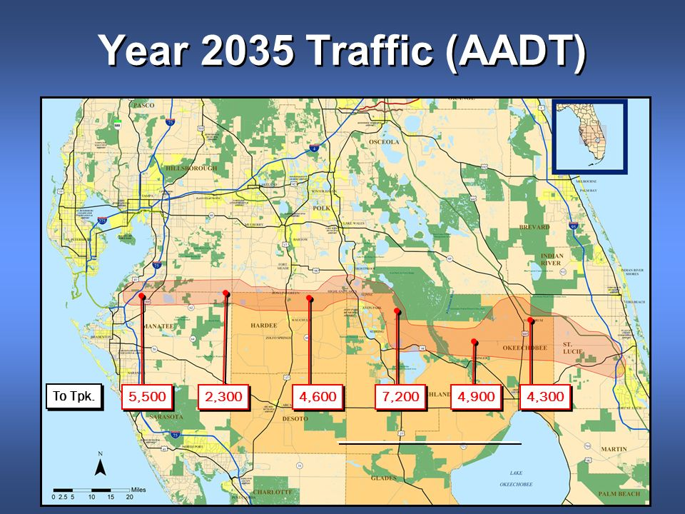 Year 2035 Traffic (AADT) 4,300 4,900 7,200 4,600 2,300 5,500 To Tpk.