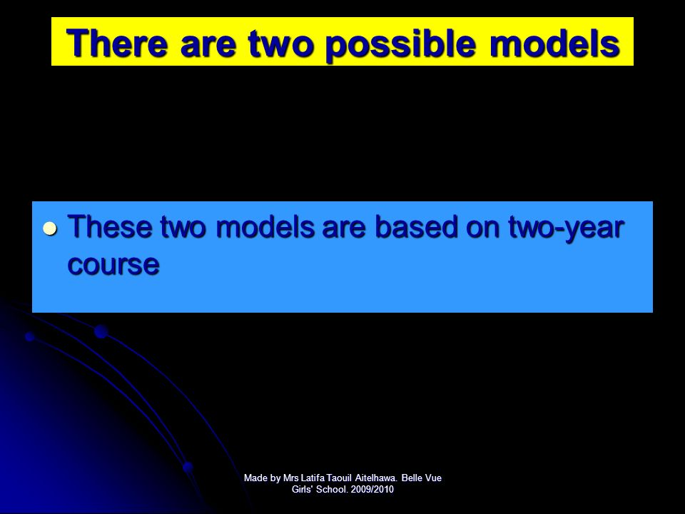 Delivery models How to deliver these models? There are many ways to cover There are many ways to cover the content of the new Edexcel specification