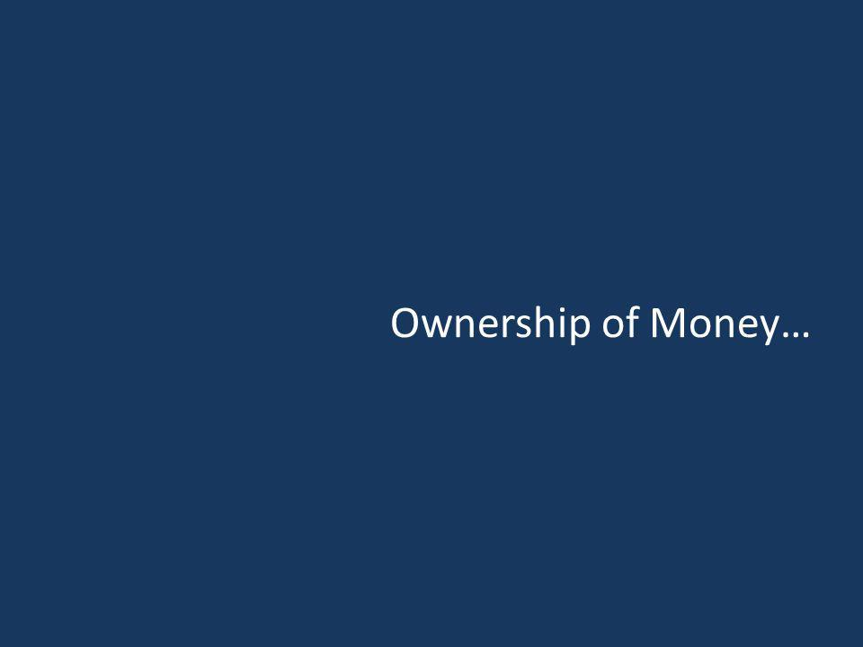 Ownership of Money…