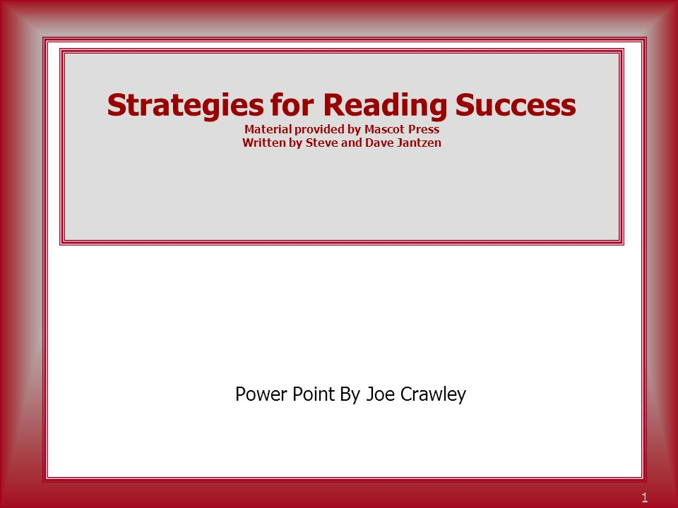 www.BeaconLearningCenter.com 2 Overview of Your Handouts 100 Ways to Get Your Kids to Love Reading by Phyliss Hunter Reading Benchmarks for High School Students.
