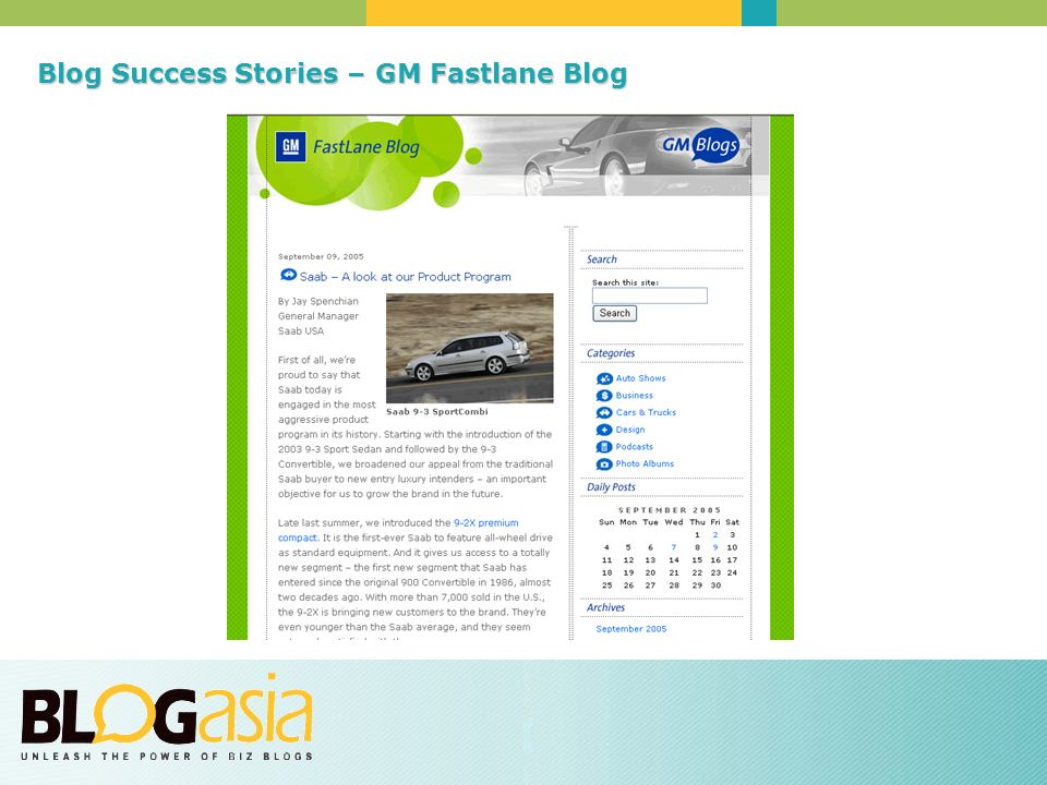 Blog SuccessStories – GM Fastlane Blog Blog Success Stories – GM Fastlane Blog