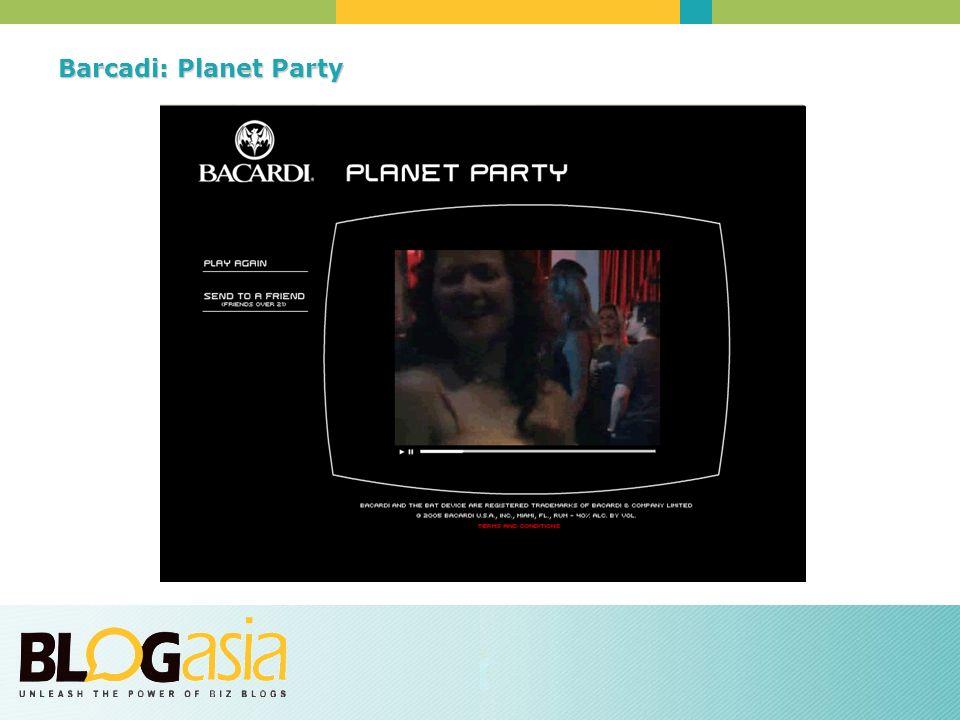 Barcadi: Planet Party