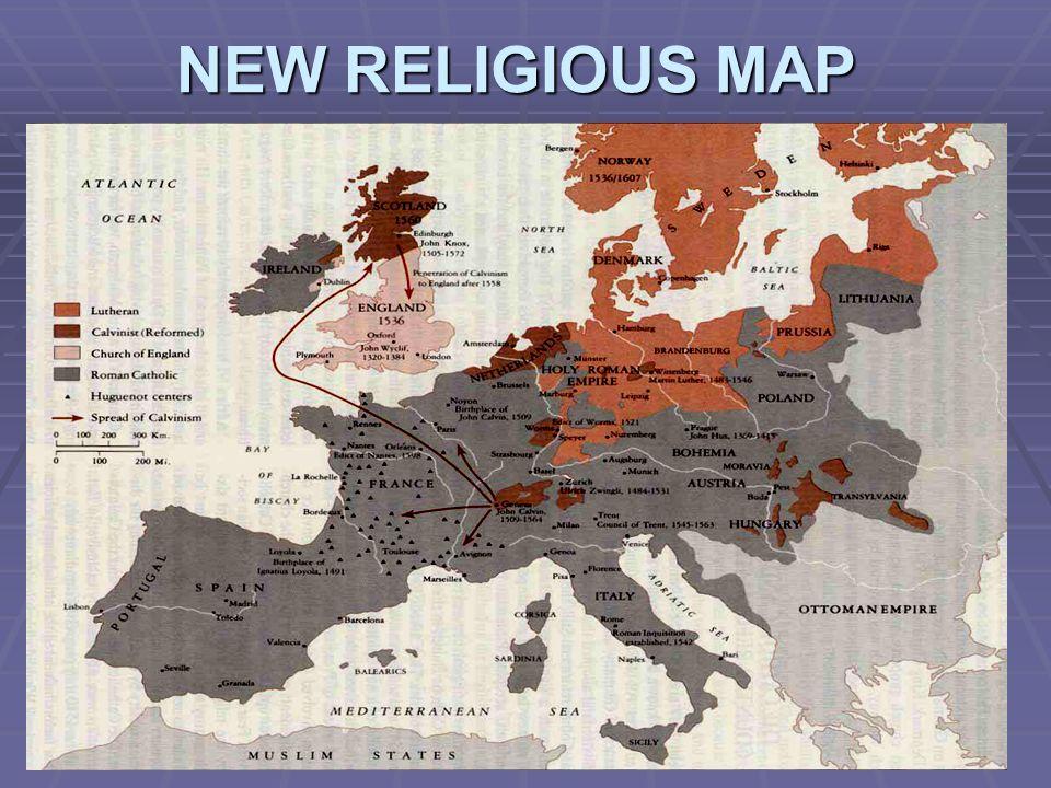 NEW RELIGIOUS MAP