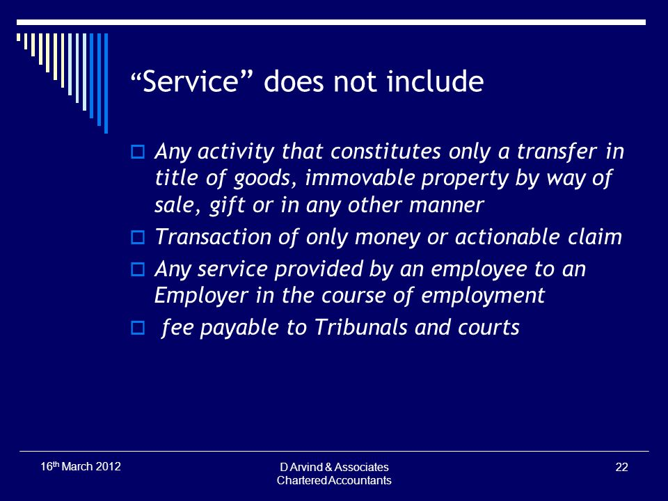 Service does not include Any activity that constitutes only a transfer in title of goods, immovable property by way of sale, gift or in any other mann