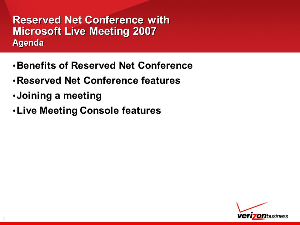 4 Benefits of Reserved Net Conference Connects hundreds of users simultaneously Uses existing Internet access Requires no special software for participants Offers two levels of password security Provides secure meetings –We offer Enhanced Security and SSL Encryption Includes convenient on-demand replays Allows participation via audio, Internet, or both