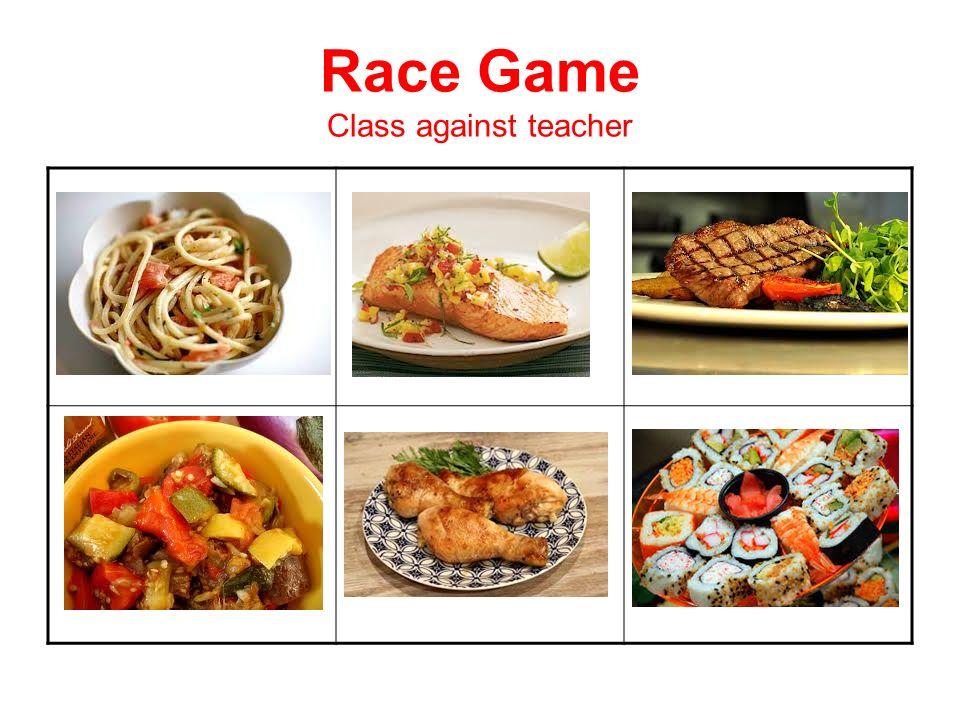 Race Game Class against teacher