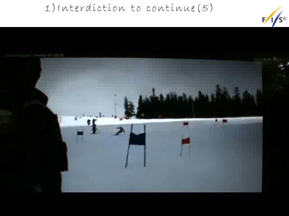 1)Interdiction to continue(5) Alpine Technical Delegates Update 2012