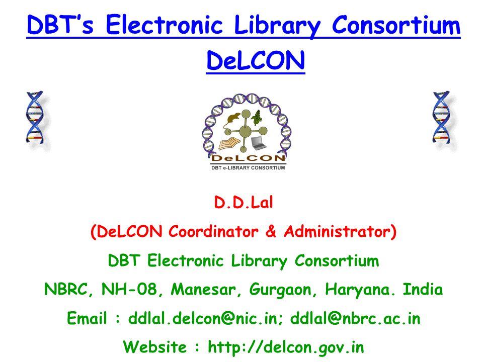 DeLCON Consortium What is DeLCON Consortium .