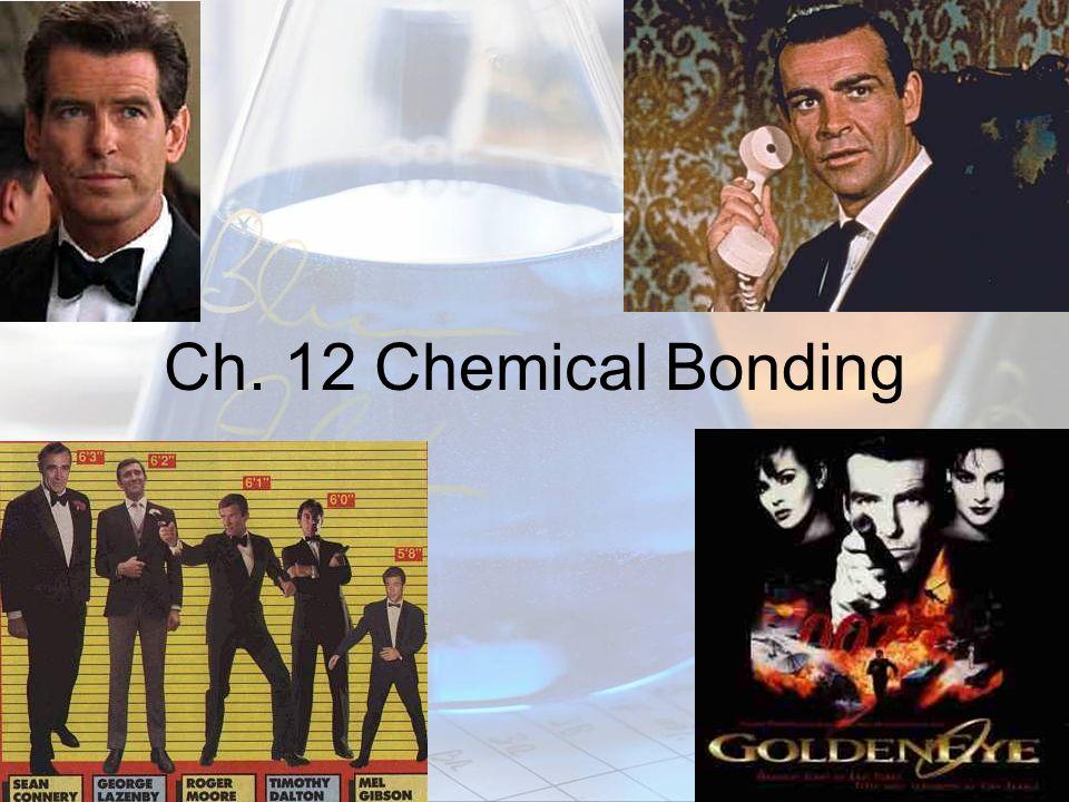 Ch. 12 Chemical Bonding