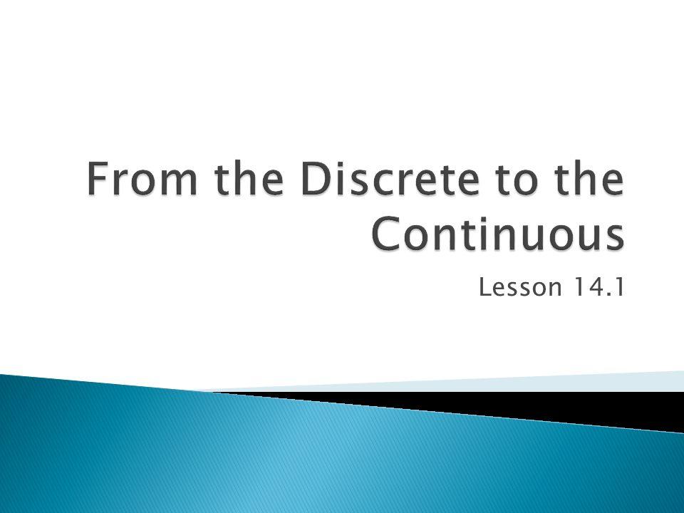 Lesson 14.1