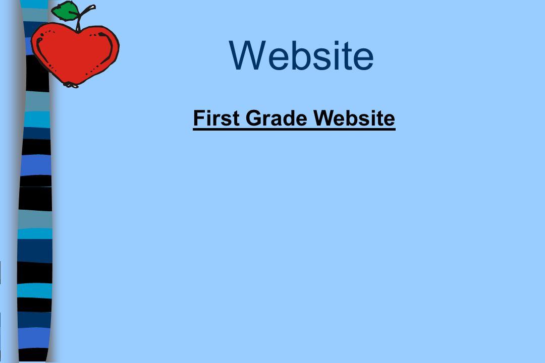 Website First Grade Website