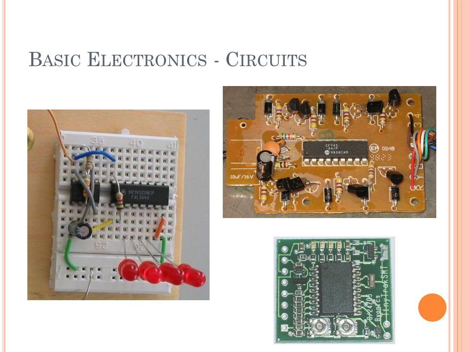 B ASIC E LECTRONICS - C IRCUITS
