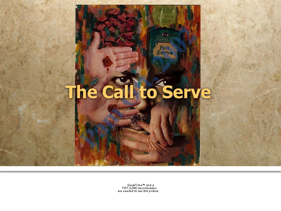 community church The Call to Serve
