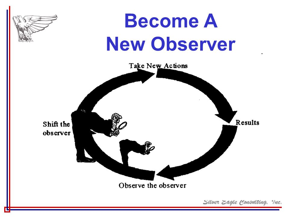 Silver Eagle Consulting, Inc. Become A New Observer
