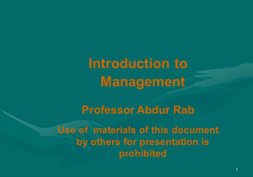 22 Science and Art of Management Science of Management: Many management problems and issues can be approached that are rational, logical, objective and systematic.