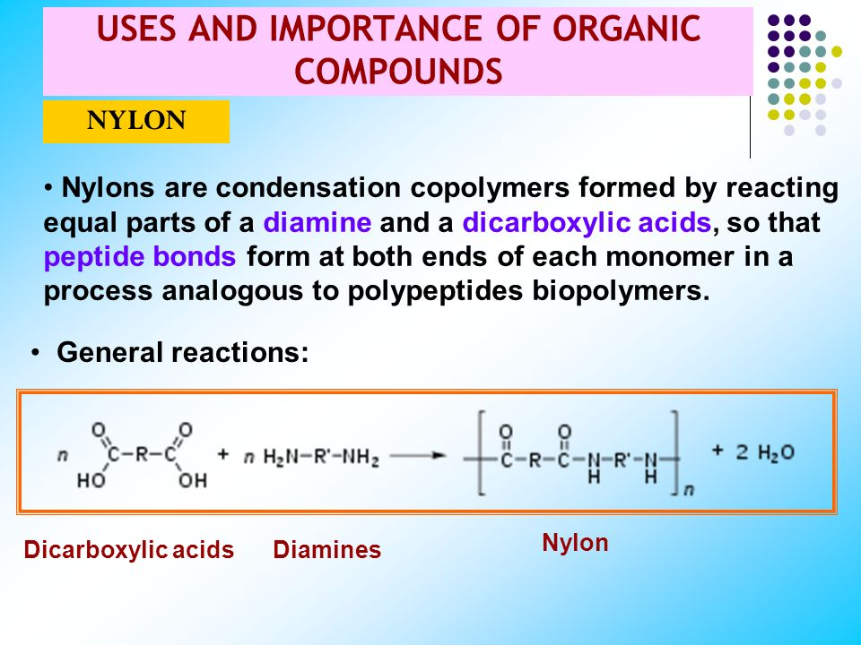 SOME MONOMERS AND THEIR COMMON SYNTHETIC POLYMERS