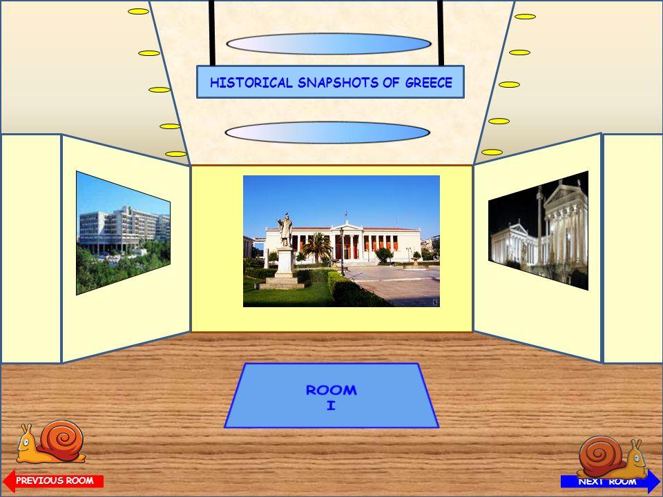 HISTORICAL SNAPSHOTS OF GREECE Olympus Mountain NEXT ROOM HISTORICAL SNAPSHOTS OF GREECE PREVIOUS ROOM