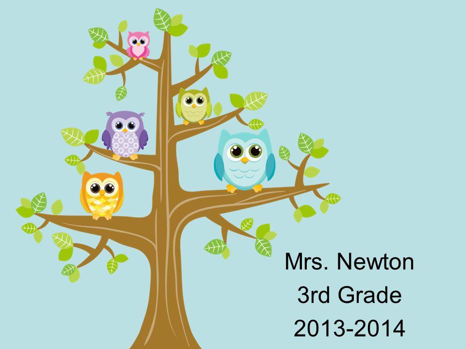 Mrs. Newton 3rd Grade 2013-2014