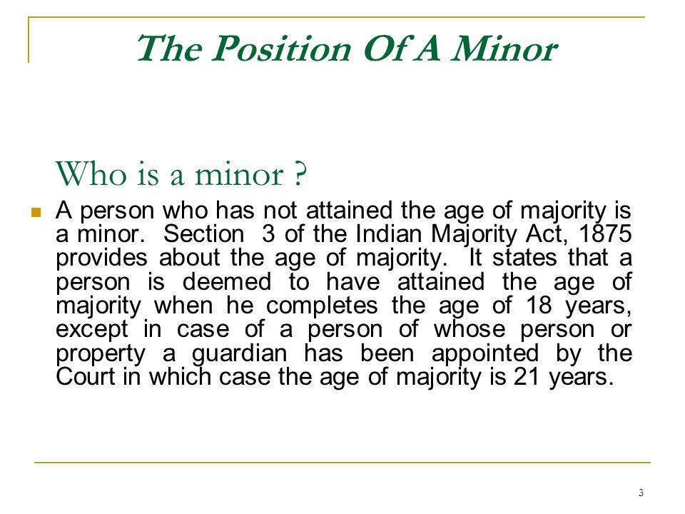 24 A minor has been authorised to draw, endorse, deliver and negotiate a negotiable instrument.