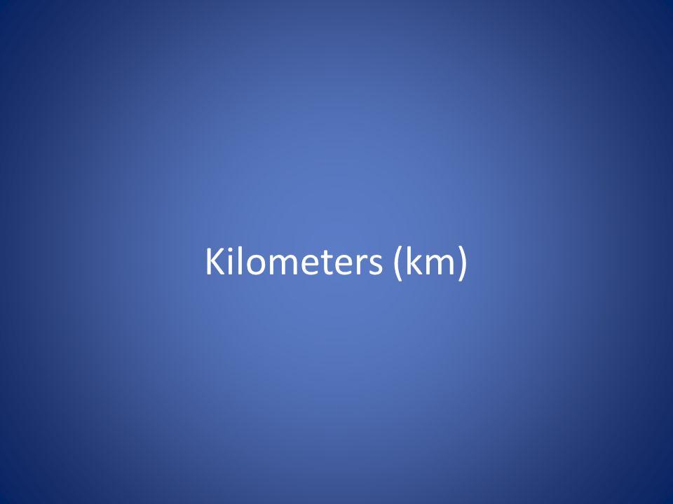 Kilometers (km)
