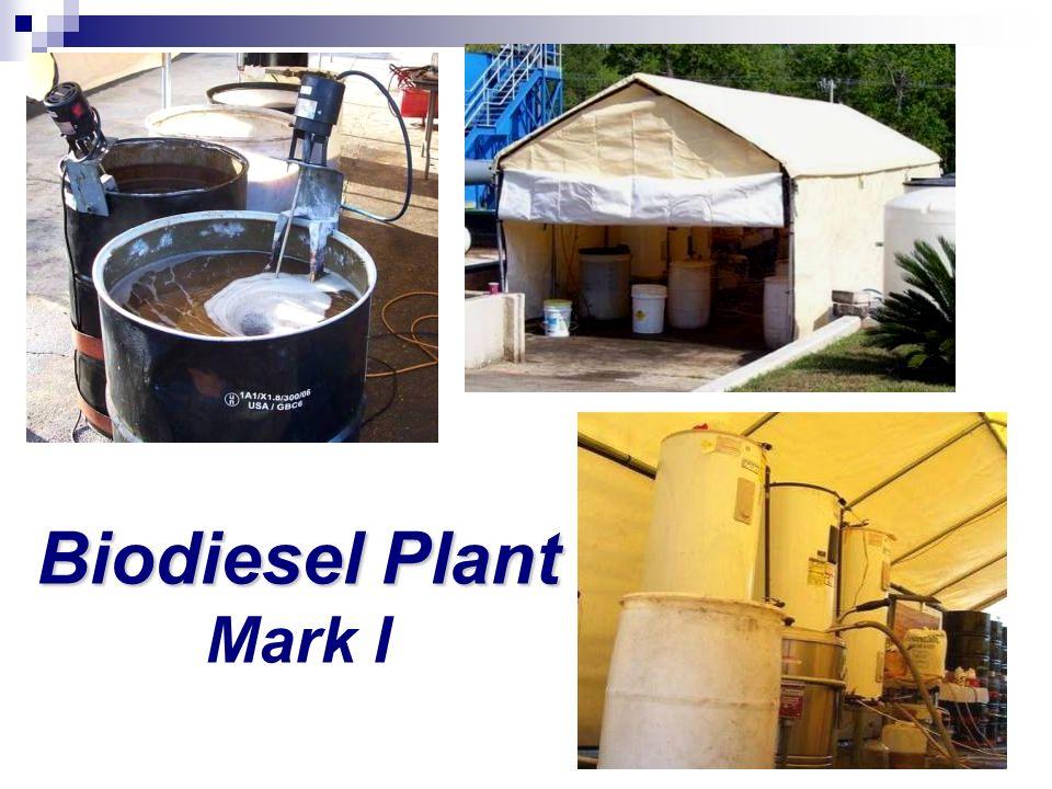 Biodiesel Plant Biodiesel Plant Mark I