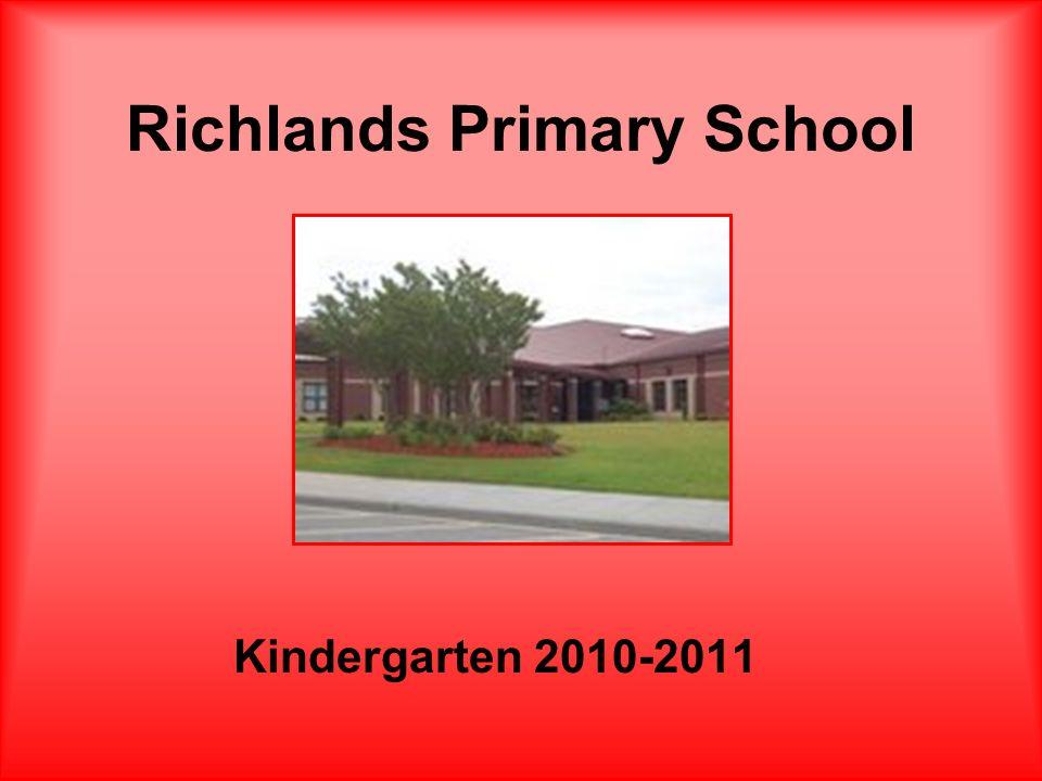 Richlands Primary School Kindergarten 2010-2011