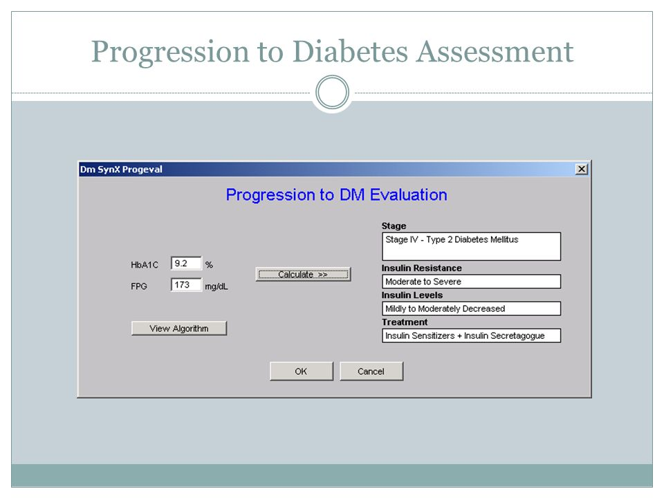 Progression to Diabetes Assessment